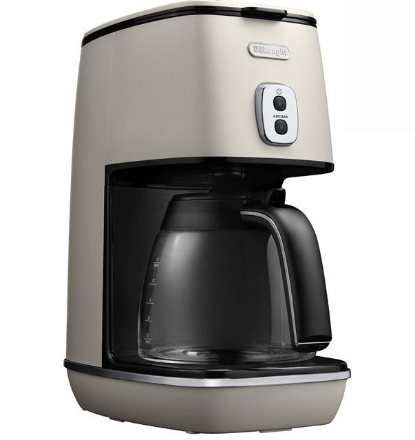 デロンギ ディスティンタコレクション ドリップコーヒーメーカー[ICMI011J-W]