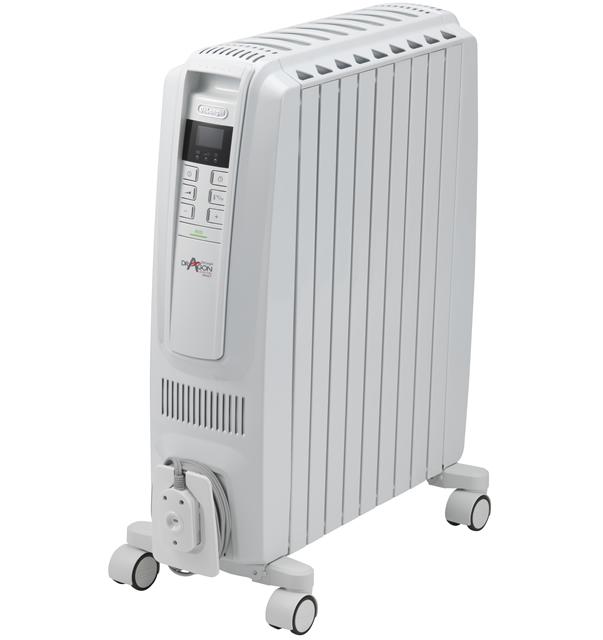デロンギ オイルヒーター  ドラゴンデジタル スマート [QSD0915-WH]