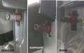 全自動コーヒーマシン/エスプレッソマシン スチーム管サポート部Oリング(赤) [パーツコード:5332177500]