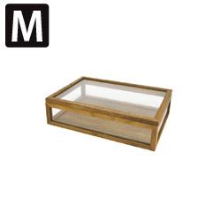 La Luz (ラ・ルース)ジュエルボックスM★木製 箱 アクセサリーケース ジュエリー インテリア