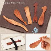 La Luz (ラ・ルース)動物カトラリーシリーズ 木製 木 スプーン フォーク 食器 ギフト カトラリー