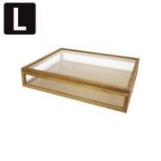 La Luz (ラ・ルース)ジュエルボックスL★木製 箱 アクセサリーケース ジュエリー インテリア