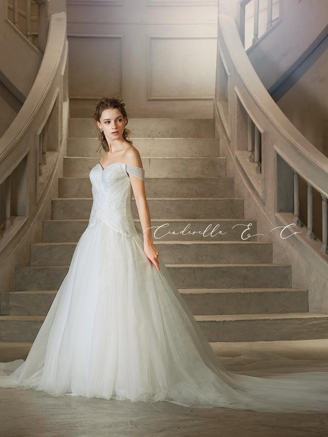 マーメイドドレス Galia Lahav ガリアラハヴ ロングトレーンのマーメイドドレス
