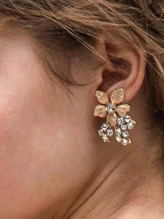 エリザベスバウアー elizabethbower Gabby Stud Earrings