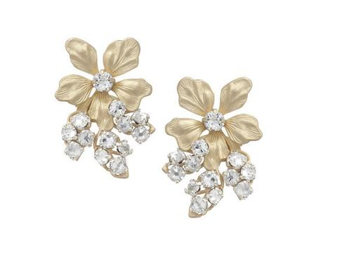 エリザベスバウアー elizabethbower Gabby Stud Earrings