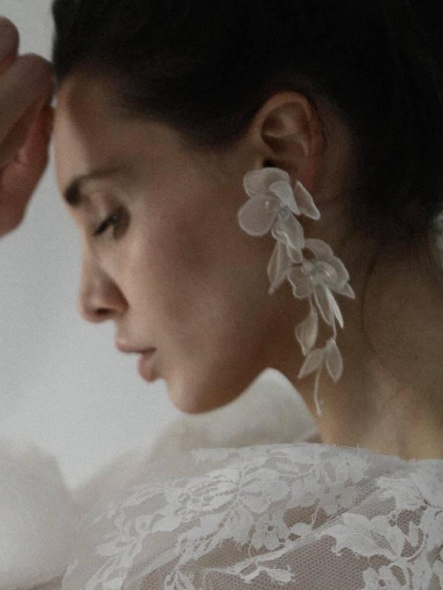 ABELLIE CharleeFloralTier Earring イヤリング