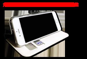 手帳型ケース機能3S
