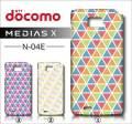 docomo NEC MEDIAS X N-04E・デザインケース【triangle】