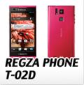 docomo 富士通東芝 REGZA PHONE T-02D・オリジナルスマホケース