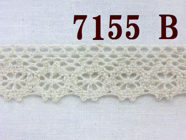 麻混トーションレース 大定 手芸 TL-7155