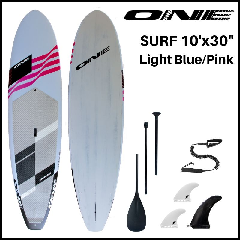 "【ONE ワン】 ONE SUP SURF 10'0 × 30"" LIGHT BLUE"