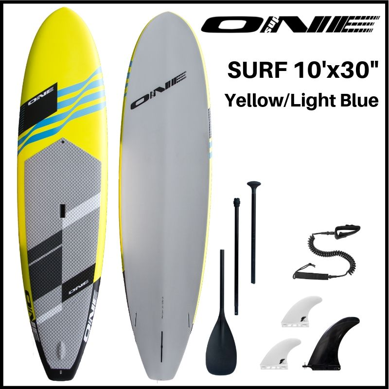 """【ONE ワン】 ONE SUP SURF 10'0 × 30"""" YELLOW"""