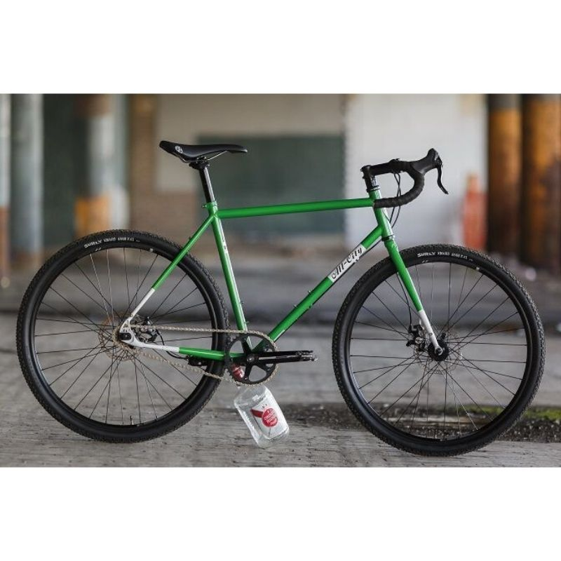 【ALLCITY オールシティ】 NATURE BOY DISC Green/White 完成車