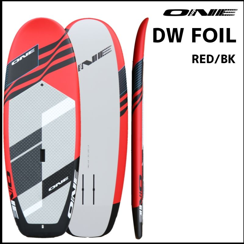 【ONE ワン】 ONE DOWN WINDOW FOIL Red/Black