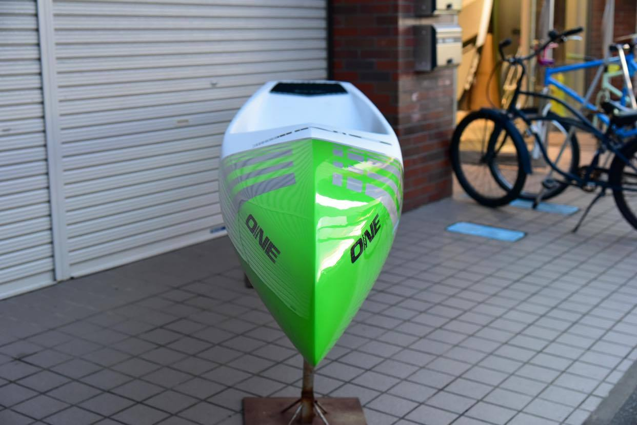"【ONE ワン】 ONE SUP EDGE PRO 2.0 HOLLOW 14'×23.5"" GREEN"