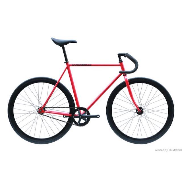 【CARTELBIKES カーテルバイク】 AVENUE STRONG RED ピストバイク完成車 レッド