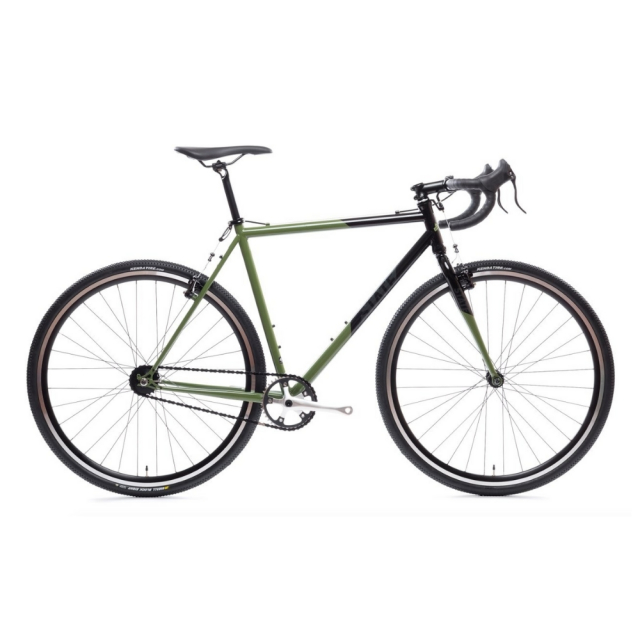 【STATEBICYCLE ステイトバイシクル】 WARHAWK CYCLOCROSS BIKE Olive Smoke & Black 完成車