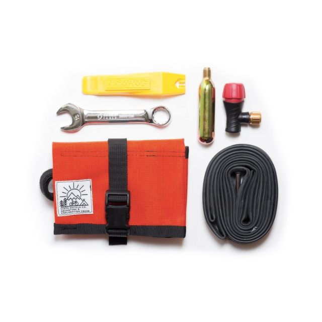 【STATEBICYCLE ステイトバイシクル】 SBC x Road Runner - Bike Roll/Pouch & Tool Set Orange  PISTBIKE