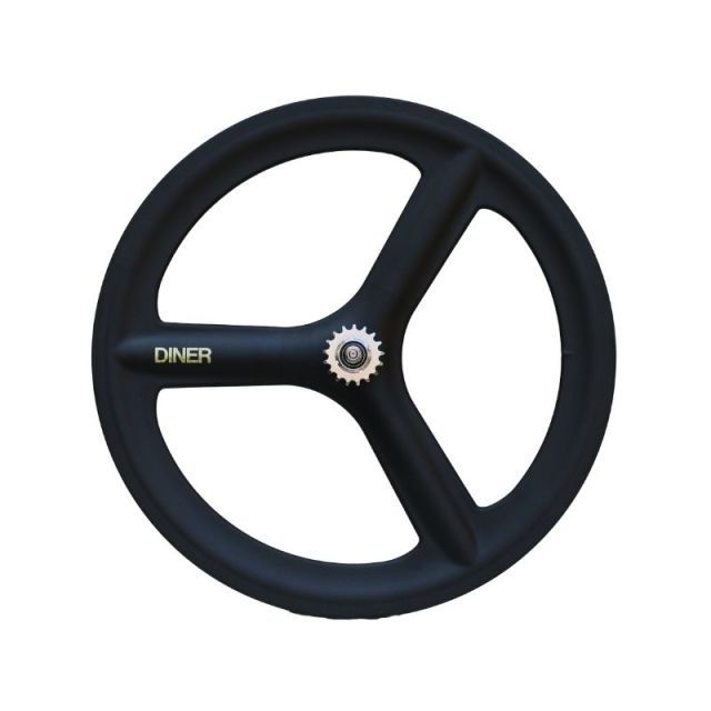 【DINER ORIGINAL ダイナーオリジナル  】 3SPOKE CLINCHER CARBON WHEEL REAR カーボンホイール
