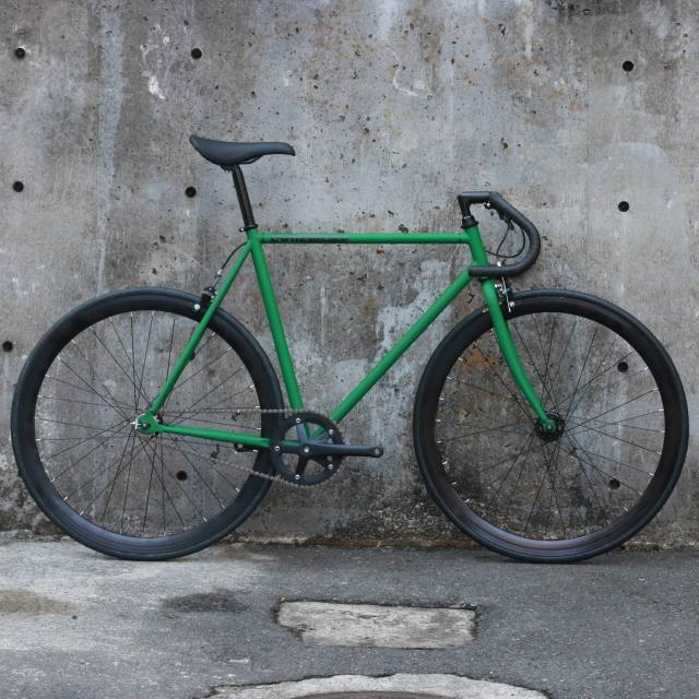 【CARTELBIKES カーテルバイク】 AVENUE MAT GREEN DROP 完成車
