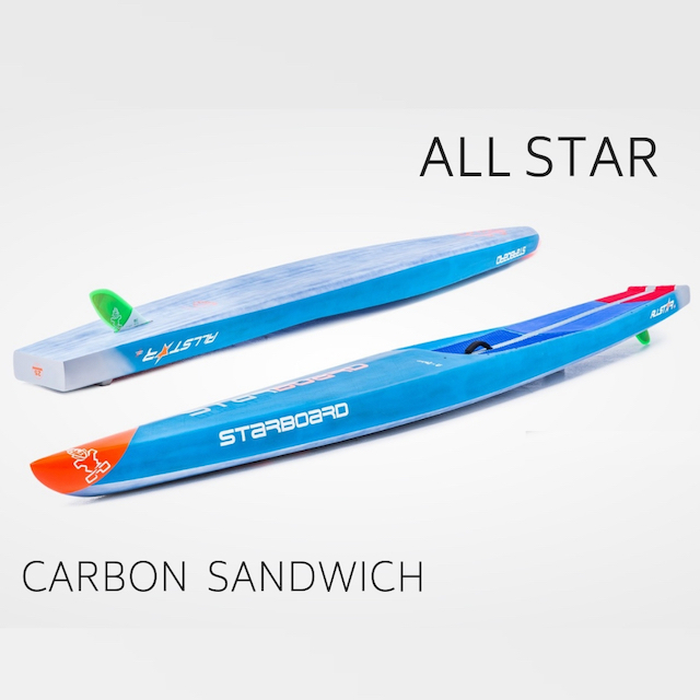【STARBOARD スターボード】 RACE ALL STAR Carbon Sandwich