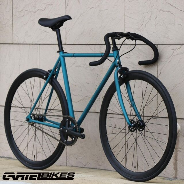 【CARTELBIKES カーテルバイク】 AVENUE TEAL ピストバイク完成車