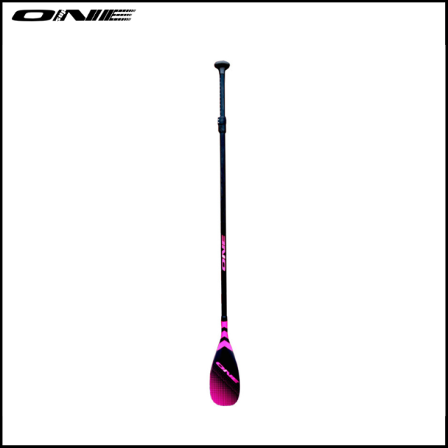 【ONE SUP/ワン】 Adjustable / Fishskin Blade Round Shaft Carbon Glass Hybrid PINK