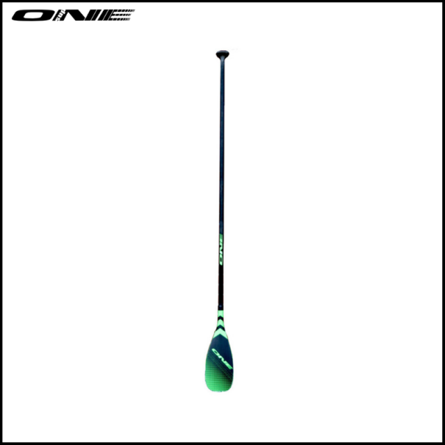 【ONE SUP/ワン】 Fixed / Fishskin Blade Round Shaft Carbon Glass Hybrid GRN