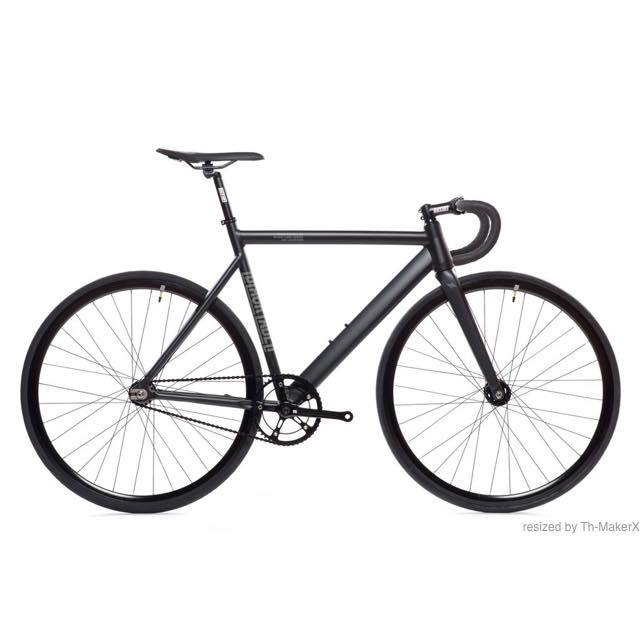 【STATEBICYCLE ステイトバイシクル】 6061 BLACK LABEL V2 MATTE BLACK  完成車