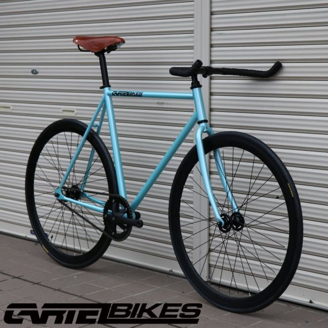 【CARTELBIKES カーテルバイク】 AVENUE LIGHT BLUE BROOKS B17 STD HONEY カスタム完成車