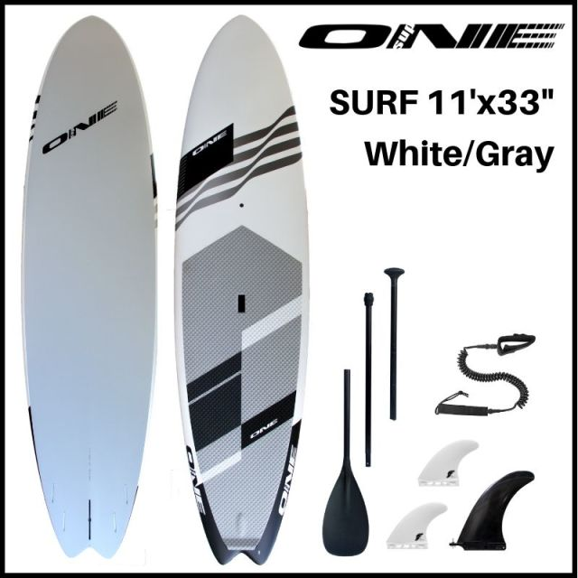"【ONE ワン】 ONE SUP SURF 11'0"" × 33"" WHITE"