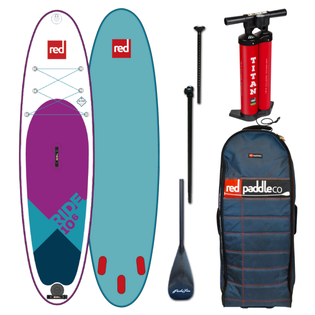 【RED PADDLE CO レッドパドル】 インフレータブルSUP サップ RIDE SPECIAL EDITION 10'6ft