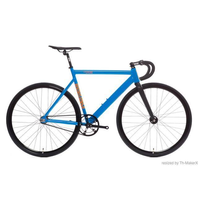 【STATEBICYCLE ステイトバイシクル】 6061 BLACK LABEL V2 TYHOON BLUE 完成車