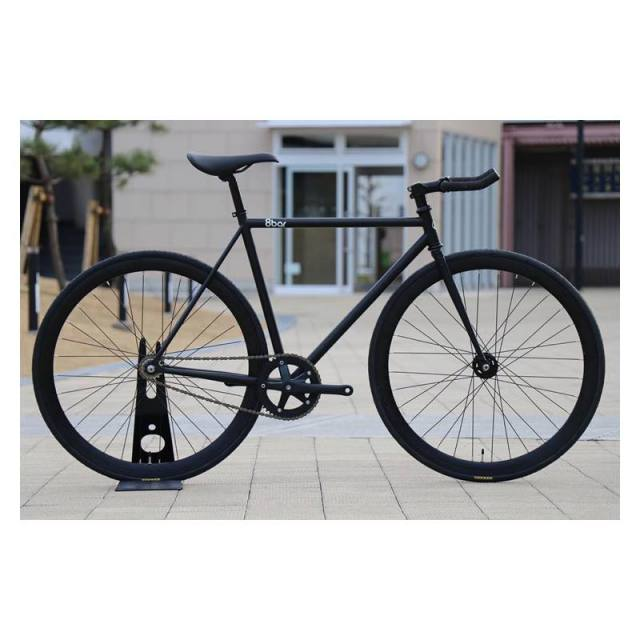 【8bar bikes エイトバー】 FHAIN STEEL V1 COMPLETE BIKE MATT BLACK 完成車