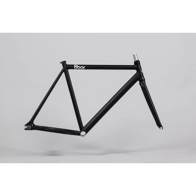 【8barbikes エイトバー】 FHAIN V3 MATT GHOST BLACK フレームセット
