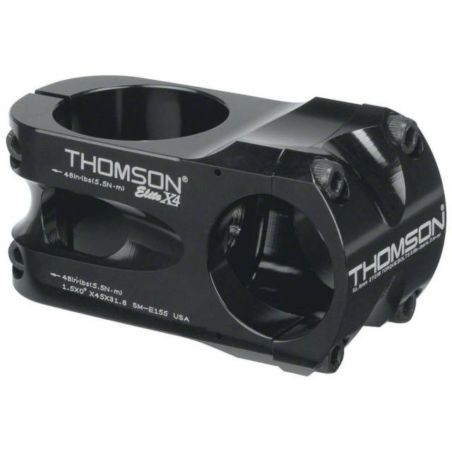 【THOMSON トムソン】 ELITE X4 STEM BK 50mm