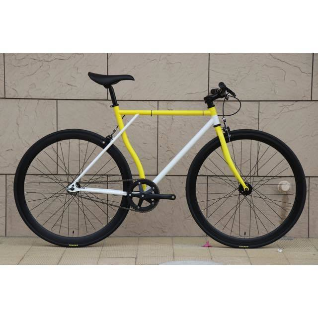 【CARTELBIKES×HOMBRE NINON】HOMBREMENTARY WHITE&YELLOW