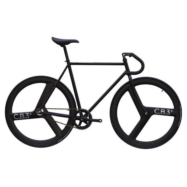 【CARTELBIKES カーテルバイク】 AVENUE MAT AVENUE FRONT&REAR C.B.3 PLUS CARBON WHEEL  カスタム完成車