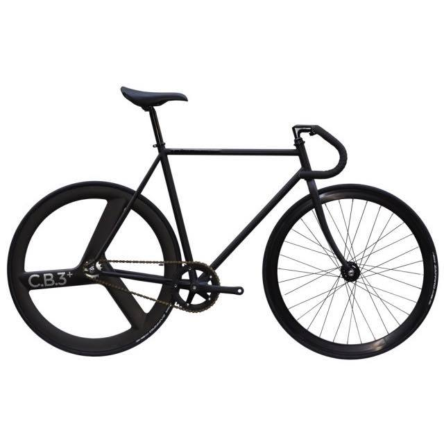 【CARTELBIKES カーテルバイク】 AVENUE MAT AVENUE REAR C.B.3 PLUS CARBON WHEEL  カスタム完成車