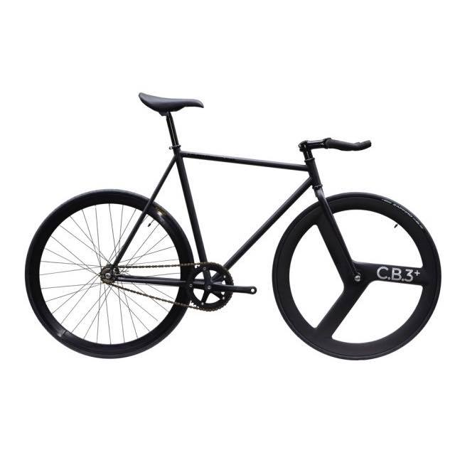 【CARTELBIKES カーテルバイク】 AVENUE LO MAT BLACK FRONT C.B.3 PLUS CARBON WHEEL  カスタム完成車