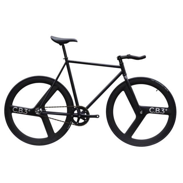 【CARTELBIKES カーテルバイク】 AVENUE LO MAT BLACK FRONT&REAR C.B.3 PLUS CARBON WHEEL  カスタム完成車