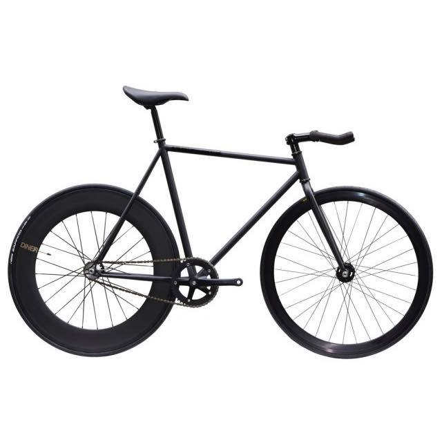 【CARTELBIKES カーテルバイク】 AVENUE LO MAT BLACK DINER REAR 88mm CARBON WHEEL  カスタム完成車