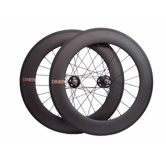 【DINER ORIGINAL ダイナーオリジナル  】 88mm CLINCHER CARBON WHEEL FRONT&REAR SET カーボンホイール