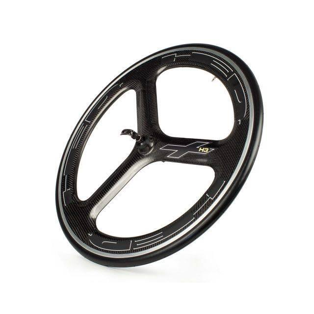 【HED ヘッドホイール】. H3 PLUS CLINCHER CARBON WHEEL FRONT