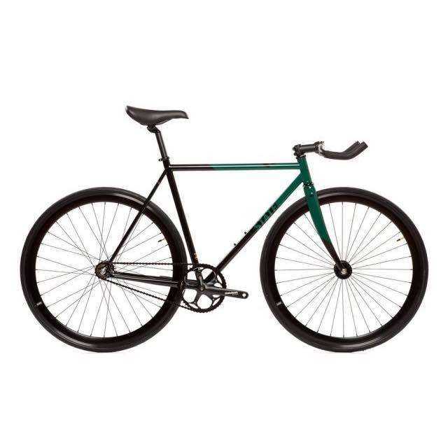 【STATEBICYCLE ステイトバイシクル】 CONTENDER 2 GREEN  完成車