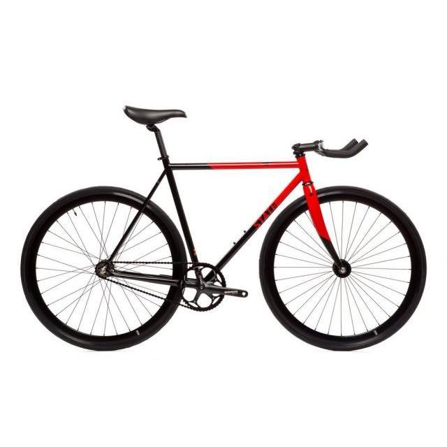【STATEBICYCLE ステイトバイシクル】 CONTENDER 2 RED  完成車