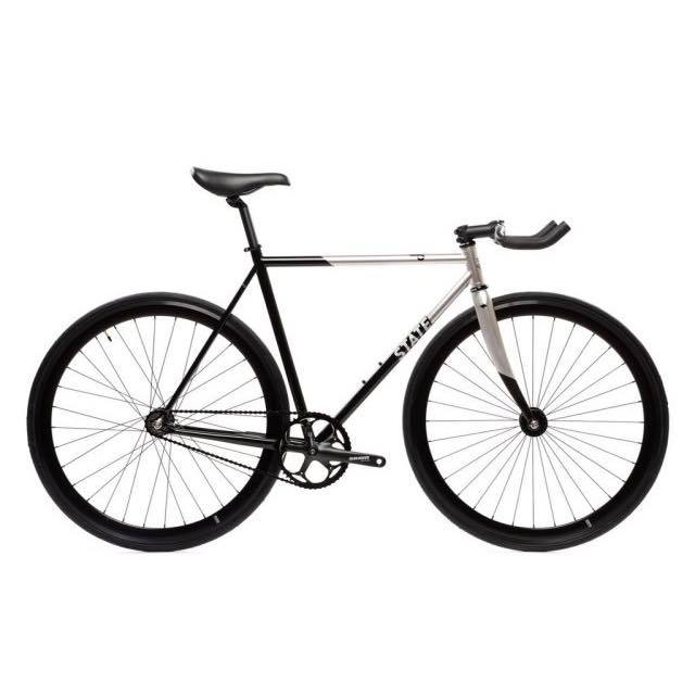 【STATEBICYCLE ステイトバイシクル】 CONTENDER 2 SILVER  完成車
