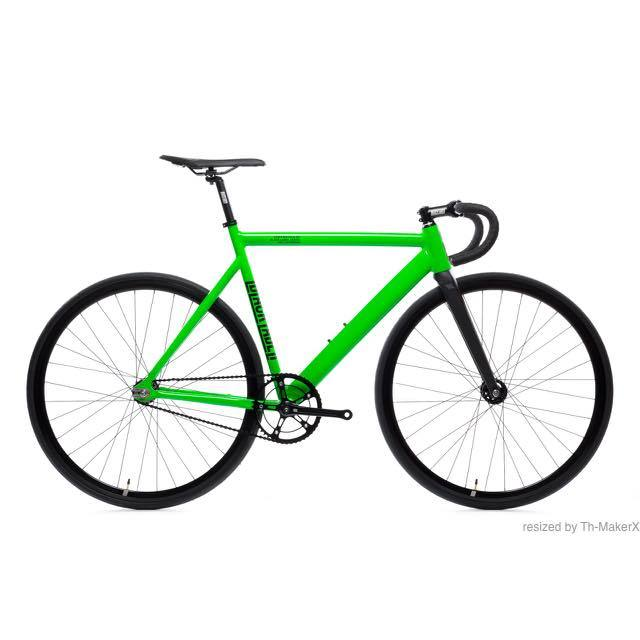 【STATEBICYCLE ステイトバイシクル】 6061 BLACK LABELV2 ZOMBIE GREEN 完成車