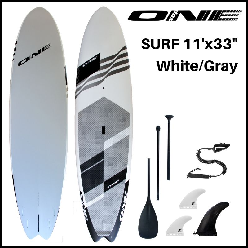 """【ONE ワン】 ONE SUP SURF 11'0"""" × 33"""" WHITE"""