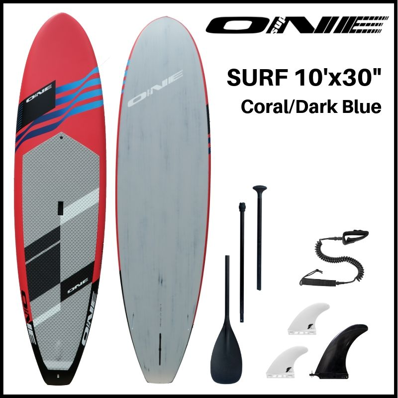 "【ONE ワン】 ONE SUP SURF 10'0 × 30"" CORAL"